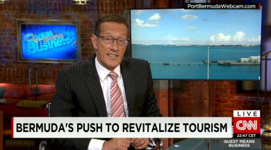 Port Bermuda Webcam on CNN